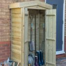 Hartwood Pressure Treated Overlap Apex Tall Garden Store