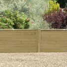 Hartwood 4' x 6' Horizontal Pressure Treated Tongue & Groove Fence Panel