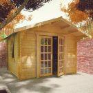 Redlands 3.6m x 3m Philadelphia Log Cabin