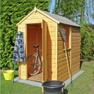 Loxley 4' x 6' Shiplap Apex Shed