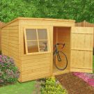 Loxley 7' x 7' Shiplap Pent Shed
