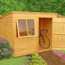 Loxley 8' x 6' Shiplap Pent Shed