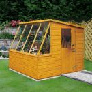 Loxley 6' x 8' Shiplap Potting Shed - Left Sided
