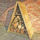 Loxley Large Overlap Triangular Log Store