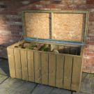 Loxley Pressure Treated Planed Log Store Chest