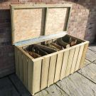 Loxley Pressure Treated Sawn Log Store Chest