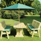 Moorvalley Ergo 6 Seater Rectangular Bench Dining Set