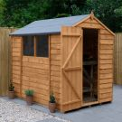 Hartwood 5' x 7' Overlap Apex Shed