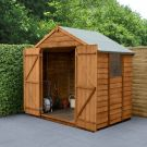 Hartwood 5' x 7' Double Door Overlap Apex Shed