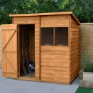 Hartwood 6' x 4' Overlap Pent Shed
