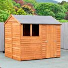 Loxley 8' x 6' Overlap Reverse Apex Shed