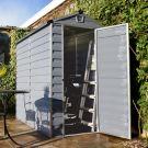 Palram - Canopia 4' x 6' Skylight Plastic Grey Shed