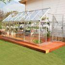 Palram 6' x 14' Harmony Silver Polycarbonate Greenhouse