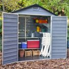 Palram 6' x 5' Skylight Plastic Grey Shed