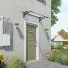 Palram Small Grey Twinwall Doorway Canopy