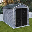 Rowlinson 6' x 10' Skylight Plastic Grey Deco Shed