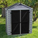 Rowlinson 3' x 6' Skylight Plastic Grey Deco Shed