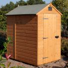 Rowlinson 6' x 4' Shiplap Apex Security Shed