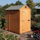 Rowlinson 7' x 5' Shiplap Apex Security Shed