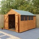 Hartwood 8' x 10' Double Door Shiplap Apex Workshop