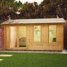 Redlands 4.8m x 3.6m Troon Log Cabin