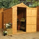 Adley 4' x 6' Windowless Overlap Apex Shed
