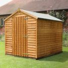 Adley 6' x 8' Windowless Overlap Apex Shed