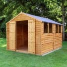 Adley 8' x 10' Double Door Overlap Apex Shed