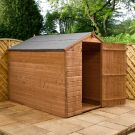Adley 6' x 8' Pressure Treated Windowless Shiplap Apex Shed