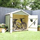 Adley Pressure Treated Shiplap Apex Bike Shed