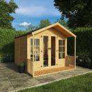 Adley 8' x 10' Premium Traditional Summer House With Veranda