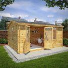 Adley 5m x 4m Home Office Premium Log Cabin