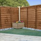 Adley 4' x 6' Pressure Treated Lap Fence Panel