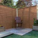Adley 5' x 6' Pressure Treated Lap Fence Panel