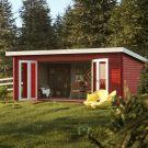 Stour 5.3m x 3.8m Cleveland Log Cabin