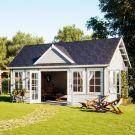 Stour 5.3m x 3.8m Shropshire Log Cabin