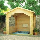 Redlands 12' x 10' Hot Tub Shelter