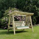 Moorvalley 3 Seater Shaded Trellis Swing Seat