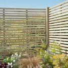 Hartwood 6' x 6' Slatted Pressure Treated Fence Panel