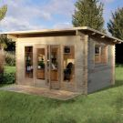 Hartwood 4m x 3m Burford Log Cabin