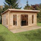 Hartwood 5m x 4m Sandford Log Cabin