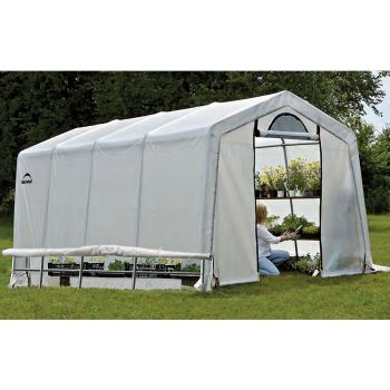 Shelter Logic 10' x 10' Peak Style Portable Greenhouse