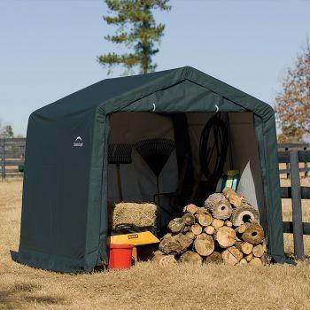 Shelter Logic 10' x 10' Peak Style Portable Storage Shed