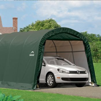 Shelter Logic 10' x 20' Round Top Style Portable Car Shelter