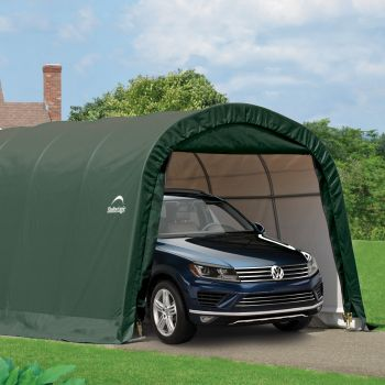 Shelter Logic 12' x 20' Round Top Style Portable Car Shelter