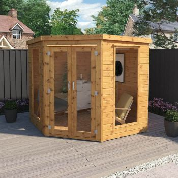 Adley 7' x 7' Chelsea Corner Summer House