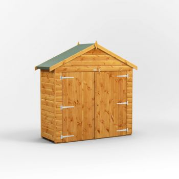 Oren 2' x 6' Shiplap Apex Bike Shed