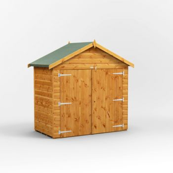 Oren 3' x 6' Shiplap Apex Bike Shed