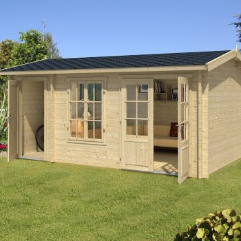Greenway 4.85m x 3m Alice Log Cabin