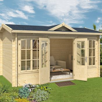 Greenway 4m x 2.5m Hamsterley Log Cabin